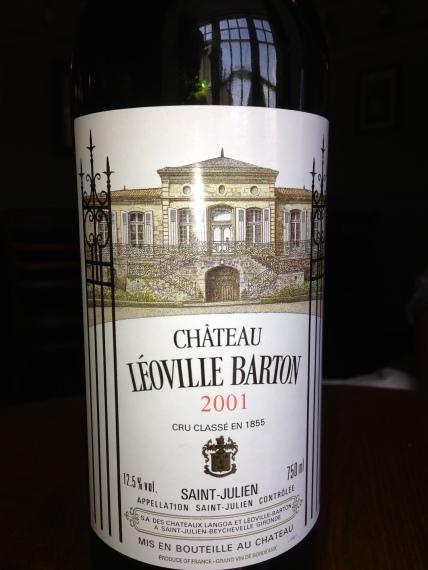 2001 Chateau Leoville Bartton